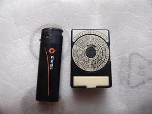 Vintage Soviet Russian USSR Exposure Meter Optek Light Meter LENINGRAD