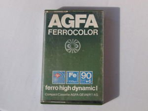 VINTAGE RARE AGFA Ferrocolor 90+6 High Dynamic I Green Color Made In Germany