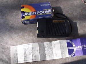 Vintage Rare Soviet Russian USSR Pocket Radio For Children ELECTRONIK Э���ТР����