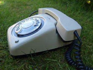 RARE VINTAGE RARE SOVIET YUGOSLAVIA ROTARY DIAL PHONE ETA 61