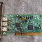 Vintage Unibrain 3-port FireWire  IEEE 1394 OHCI Adapter PCI Card I394U Ver. 1.0