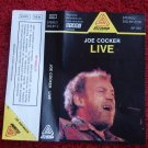 Rare Joe Cocker Live Unofficial Audio Cassette Made In Poland