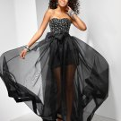Sweetheart A-line Floor-length Evening Dresses Prom Formal Gowns MS022