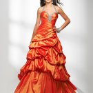 Ball Gown Halter Beaded Evening Dresses Prom Formal Gowns MS048