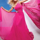 Cheap Sexy One Shoulder Long  Evening Dresses Prom Formal Party Gowns 1208