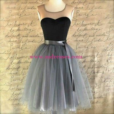 Short Tulle Wedding Party Bridesmaid Prom Evening Party Formal Dresses 23