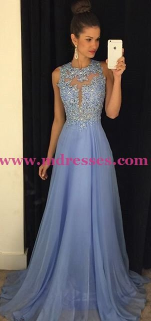 Chiffon Lace Wedding Party Prom Evening Formal Dresses 34