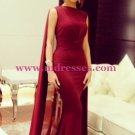 Mermaid Long Red Wedding Party Prom Evening Formal Dresses 41