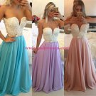 Long See Through Prom Evening Formal Dresses 89