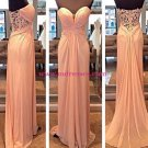 Sheath/Column Sweetheart Long Prom Evening Formal Dresses 142