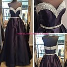 Beaded Sweetheart Long Prom Dresses Evening Gowns 196