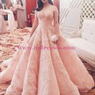 Ball Gown Lace Long Prom Dresses Party Evening Gowns 325