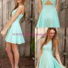 Short/Mini V-Neck Homecoming Cocktail Prom Dresses 339