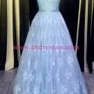 Beaded Lace Long Prom Dresses Party Evening Gowns 354