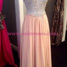 Sheath/Column Sweetheart Beaded Long Prom Dresses Party Evening Gowns 406