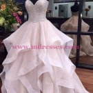 Beaded Sweetheart Long Prom Dresses Party Evening Gowns 430