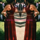 Two Pieces Long Prom Dresses Party Evening Gowns 482