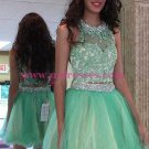 Beaded Lace Tulle Homecoming Cocktail Prom Dresses Party Evening Gowns 538