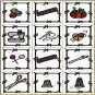 Applique Craft Blocks Machine Embroidery Designs 4x4 Hoop
