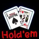 14 x 10 Neon Texas Hold'em Sign