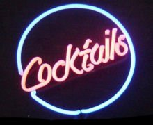 13 x 12 Neon Cocktails Sign
