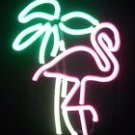 "19"" x 7"" Neon Flamingo Sign"