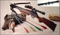 Wood Stock 150lb Crossbow + SCOPE - FREE Shipping