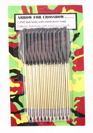1Pack - 12 Bolts  Arrows for 50lb crossbow - FREE Shipping