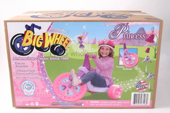 16in  PRINCESS Big Wheel Bicycle - FREE Shipping