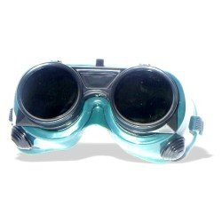 Qty 12 Welding Safety Goggles:Flip Down Lens - FREE Shipping