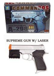 A298 Airsoft Pistol w Adj Laser Site airsoft gun