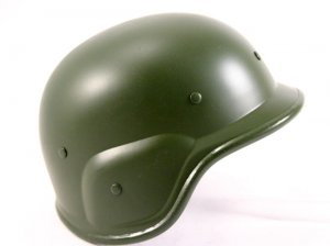 Army Style WW II Military Green Helmet  Free Shipping