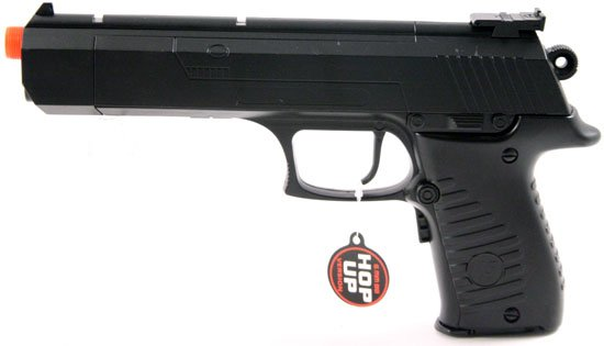 10-1.2in Full/Semi Auto Air Soft Pistol