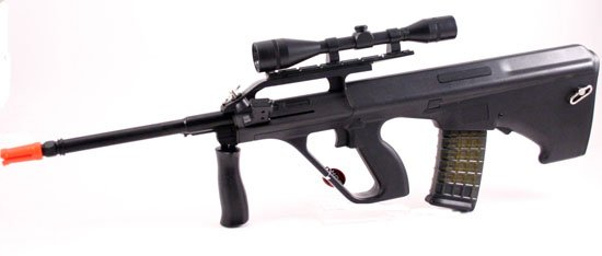 Air Soft Spring Assault Rifle w Hop Up - Free Shipping