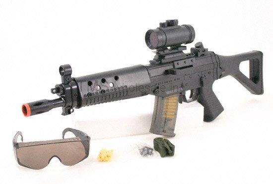 AS68:SG552 Air Soft Rifle Gun w Safety Glasses- FREE Shipping