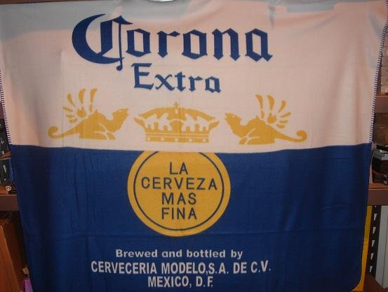 """50"""" x 60"""" Corona Extra Style Fleece Blanket"""