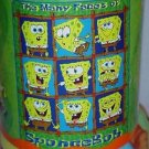 "50"" x 60"" The Faces of Spongebob Squarepants Fleece Blanket"