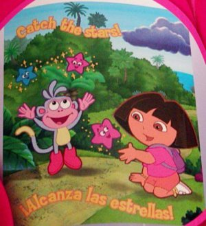 "50"" x 60"" Dora The Explorer Fleece Blanket"