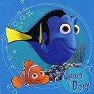 "50"" x 60"" Nemo & Dory Fleece Blanket."