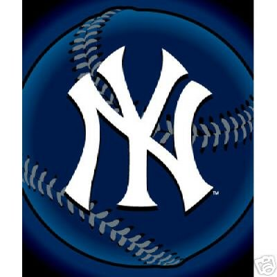 "50"" x 60"" New York Yankees Fleece Blanket"