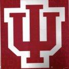 """50"""" x 60"""" Indiana University Fleece Blanket"""