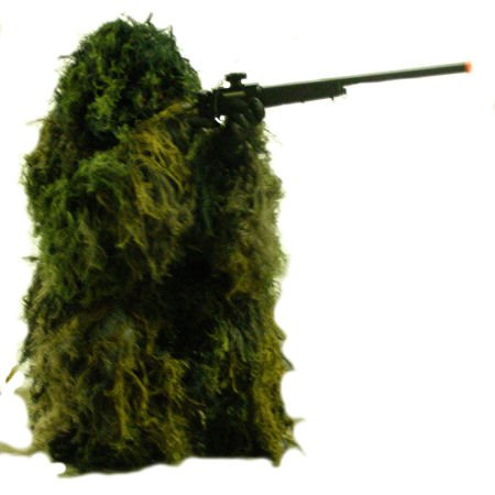 Burlap Leaf/Moss Ghillie Suit