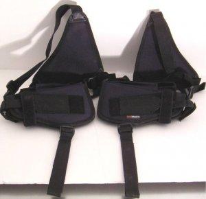 Black Shoulder Holster w/2 Holsters