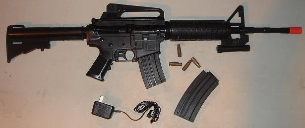 Airsoft M16 CARTRIDGE-EJECTING Airsoft Gun..Caps Only