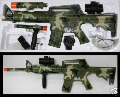 M83 Camo Automatic Airsoft Gun
