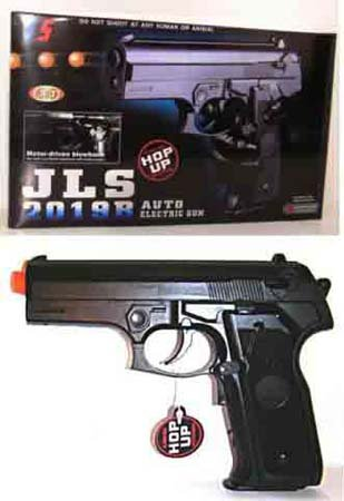 Airsoft 2019B Fully Auto Blowback Pistol