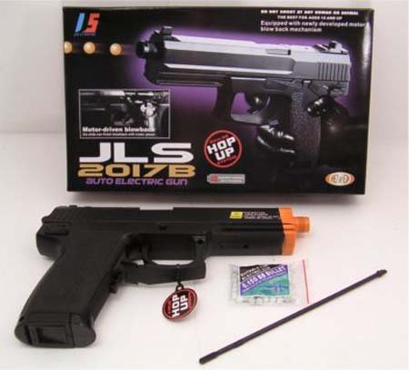 Airsoft 2017B Fully Auto Blowback Pistol