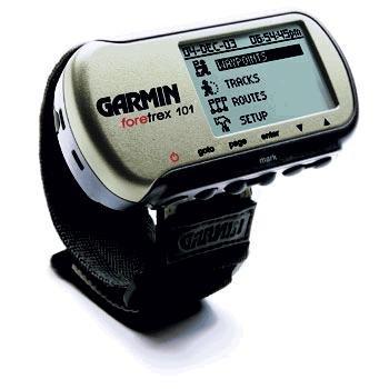 GPS, Garmin Foretrex 101 Personal Wrist Navigator