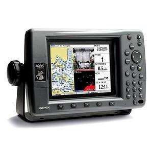 Garmin GPS GPSMAP 3006C System with GPS 17 Sensor and Worldwide Basemap