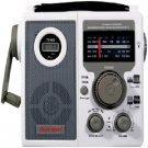 First Alert CR-100 Crank Radio with 3-Way Power